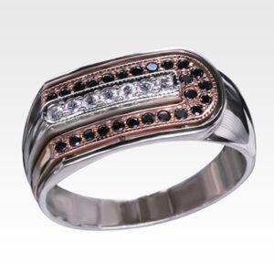Кольцо из золота с бриллиантами Арт0101601