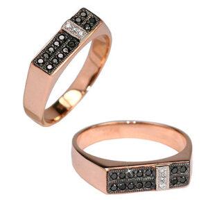 Кольцо из золота с бриллиантами Арт0101718