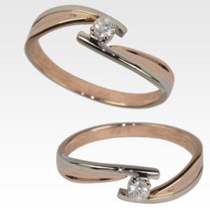 Кольцо из золота с бриллиантом Арт0101900