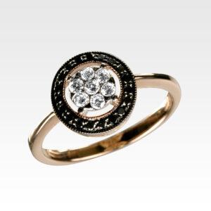 Кольцо из золота с бриллиантами Арт1101179