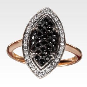 Кольцо из золота с бриллиантами Арт1101190
