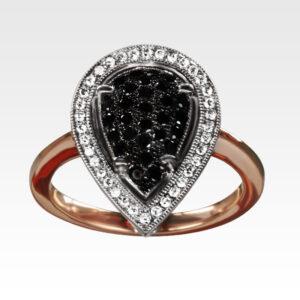 Кольцо из золота с бриллиантами Арт1101192