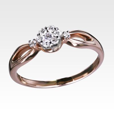 Кольцо из золота с бриллиантами Арт1101195