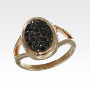 Кольцо из золота с бриллиантами Арт1101237