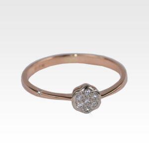 Кольцо из золота с бриллиантами Арт0101156