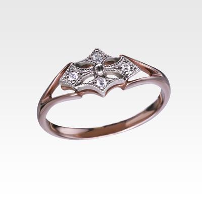 Кольцо из золота с бриллиантами Арт0101671