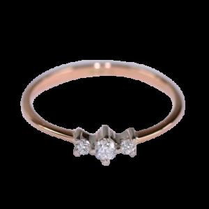 Кольцо из золота с бриллиантами Арт0101974